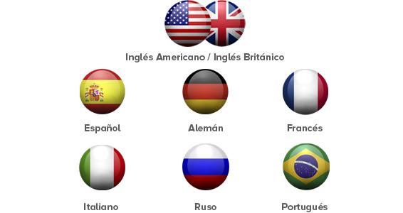 idiomas y niveles