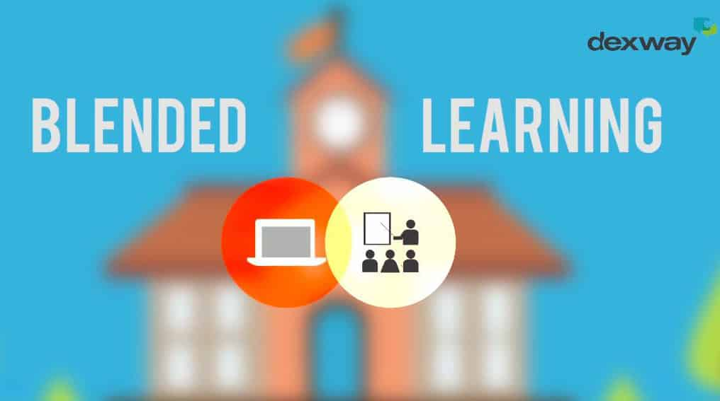 Can You Get all the Benefits of Blended Learning in an Online Language Course?