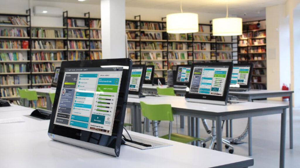a language lab