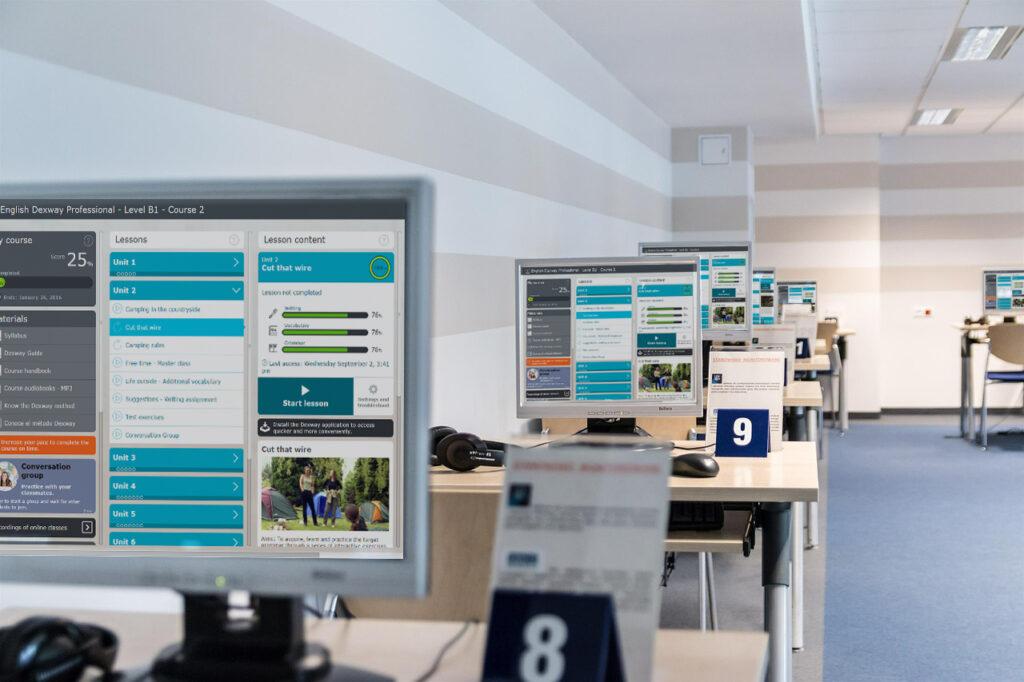 advantages virtual classroom language lab