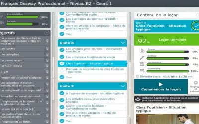 Dexway Analytics, now available in French courses
