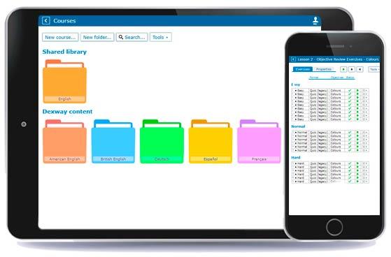 Dexway Authoring Tool online