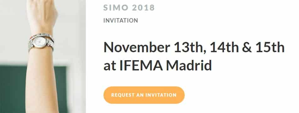 CAE Workshop at SIMO 2018: Get Your Access Pass